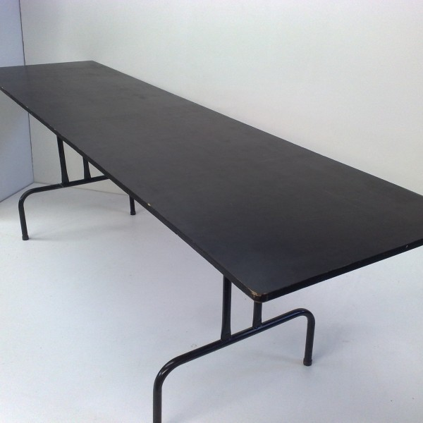 2.4m x 60cm Trestle Table Smooth Top