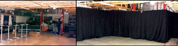 Before and After Drapes